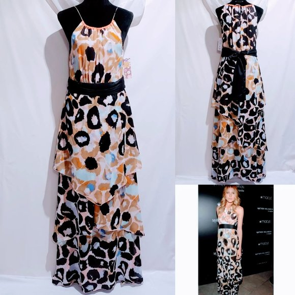 Matthew Williamson Dresses & Skirts - 🆕Matthew Williamson, Impulse Leopard print Maxi💋